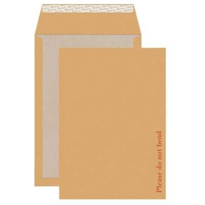 Blake C4 Board Back Pocket Envelopes 324 x 229 mm Peel and Seal Plain 130g/m² Cream Manilla Pack of 100