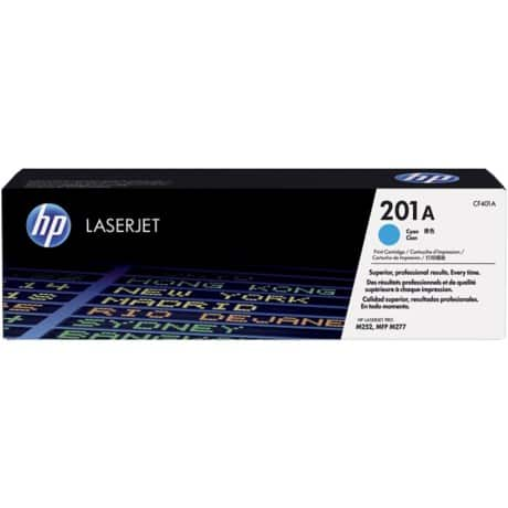 HP 201A Original Toner Cartridge CF401A Cyan