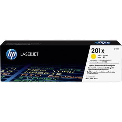 HP 201X Original Toner Cartridge CF402X Yellow