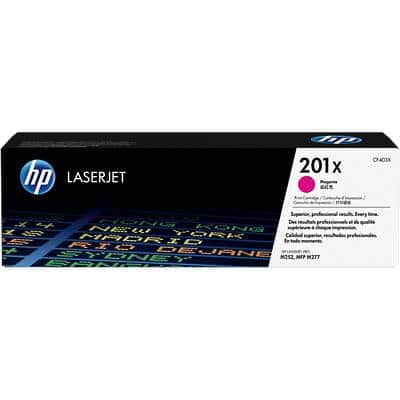 HP 201X Original Toner Cartridge CF403X Magenta