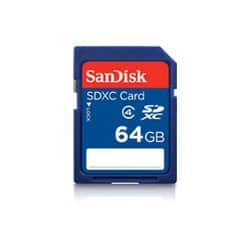 SanDisk 64 GB class 4 SDXC memory card