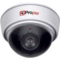 Proper LED Flashing Light Imitation Dummy Dome Security Camera P-SIDCW-1 Indoor and Outdoor