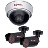 Proper Dummy Security Camera P-SIK1D2C-1
