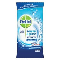 Dettol Wipes fresh mountain spring 80 pieces