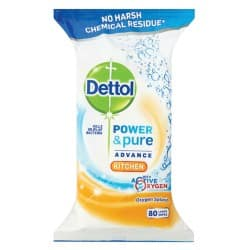 Dettol Wipes oxygen splash 80 pieces