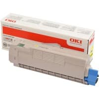 OKI Toner Cartridge Original 46507505 Yellow