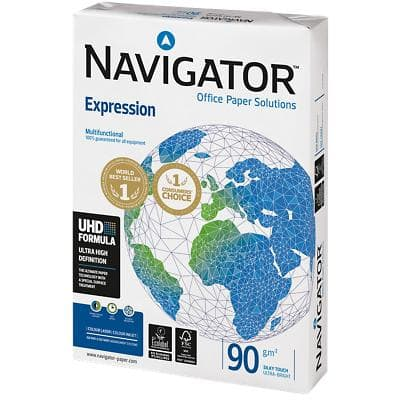 Navigator Expression Office Paper A3 90gsm White 500 Sheets