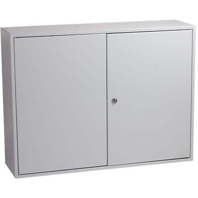 Phoenix Commercial Key Cabinet with Key Lock and 600 Hooks KC0607K 550 x 730 x 205mm