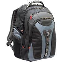 Wenger Notebook Backpack Pegasus 17 Inch Polyester and Nylon Black, Blue 37 x 24 x 48 cm