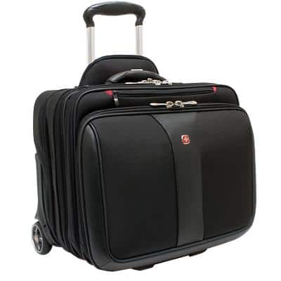Wenger Travel Bag 600662 17 Inch Polyester Black 44 x 31 x 38 cm