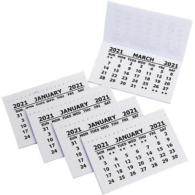 Bright Ideas Calendar Inserts 2020 50 Pieces
