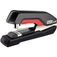 Rapid Supreme Heavy Duty Stapler S50 Flat Clinch 50 Sheets Black, Red
