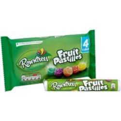 Nestlé Sweet Rowntrees Fruit Pastilles 4 pieces