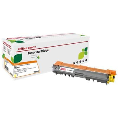 Compatible Office Depot Brother TN-241Y Toner Cartridge Yellow