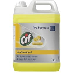Cif All Purpose Cleaner Multi-Purpose lemon 5 l