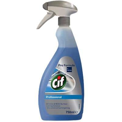 Cif Professional Window and Multisurface Cleaner Spray 750ml