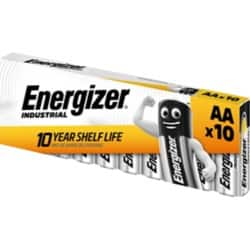 Energizer Batteries Industrial AA 10 pieces