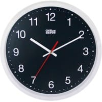 Office Depot Analog Wall Clock RD3330W 31.5 x 5cm White