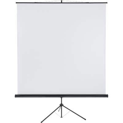 Franken Tripod Projector Screen X-tra!Line Black 200 x 200 cm