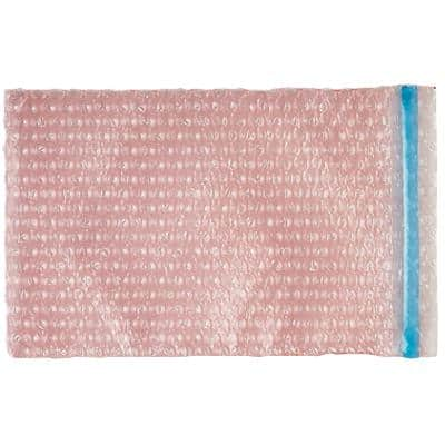 Sealed Air Anti-Static Bubble Bags 130 (W) x 185 (H) mm Peel and Seal Pink Pack of 500