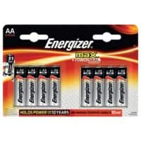 Energizer Alkaline Batteries Max AA 8 Pieces
