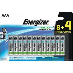 Energizer Batteries Eco Advanced AAA 12 pieces 12 pieces