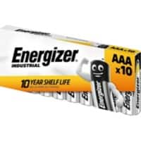 Energizer Batteries Industrial AAA 10 Pieces