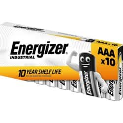 Energizer Batteries Industrial AAA 10 pieces 10 pieces