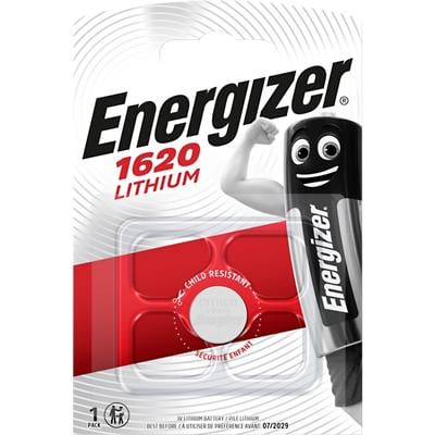 Energizer Button Cell Batteries CR1620 3V Lithium