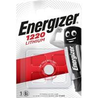 Energizer Button Cell Batteries CR1220 3V Lithium