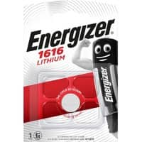Energizer Button Cell Batteries CR1616 3V Lithium