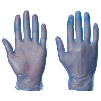 Supertouch Gloves Latex Size S Blue Pack of 100