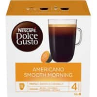 NESCAFÉ Dolce Gusto Americano Smooth Morning Coffee Pods Pack of 16