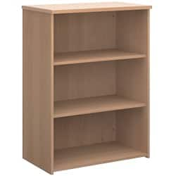 Dams International Bookcase R1090B Beech 1,090 x 800 x 470 mm