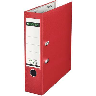 Leitz 180° Lever Arch File 1010 80 mm Polypropylene A4 Red