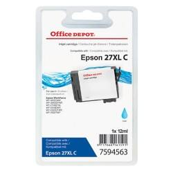 Office Depot Compatible Epson 27XL Ink Cartridge T271240 Cyan