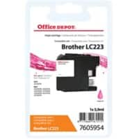 Office Depot Compatible Brother LC223M Ink Cartridge Magenta