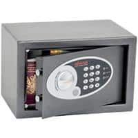 Phoenix Security Safe with Electronic Lock Vela Home & Office SS0801E 310 x 200 x 200mm Metallic Graphite