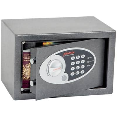 Phoenix Security Safe SS0801E Metallic Graphite 310 x 200 x 200 mm