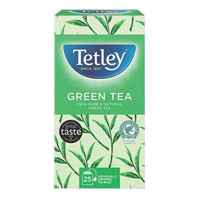 Tetley Green Tea 25 Pieces