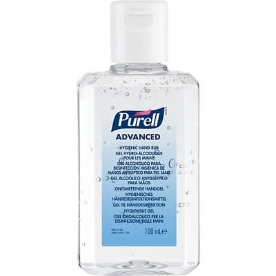 PURELL Hygienic Hand Gel White 100 ml