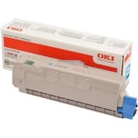 OKI Toner Cartridge Original 46507507 Cyan