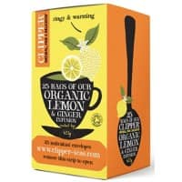 Clipper Lemon, Ginger Organic Infusion Tea 25 Pieces