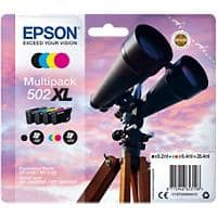 Epson 502XL Original Ink Cartridge C13T02W64010 Assorted 4 Pieces