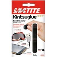 Kinsuglue Putty Black 3 Pieces of 5 g