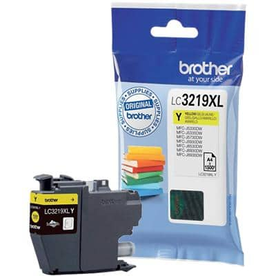 Brother LC3219XLY Original Ink Cartridge Yellow