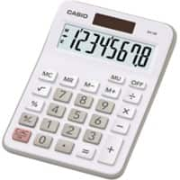 Casio Desktop Calculator MX-8B 8 Digit Display White