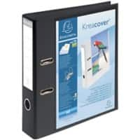 Exacompta Lever Arch File Pressboard A4 2 ring 75 mm Black