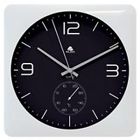 Alba Wall Clock HORDUOBC 30 x 32 x 4.4 x 32 cm Black, White