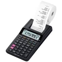 Casio Printing Calculator with Roll HR-8RCE 12 Digit Display Black